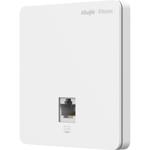 Reyee RG-RAP1200(F) İç Ortam Access Point- AC1300 Dual Band Wall 867Mbps at 5GHz + 400Mbps at 2.4GHz