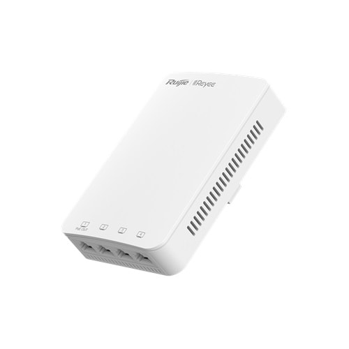 Reyee RG-RAP1200(P) İç Ortam Access Point- AC1300 Dual Band Wall 867Mbps at 5GHz + 400Mbps at 2.4GHz